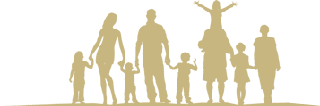 header family silhoulette